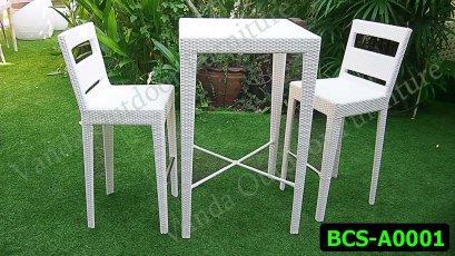 ชุดนั่งเล่นหวายเทียม รหัสสินค้า BCS-A0001