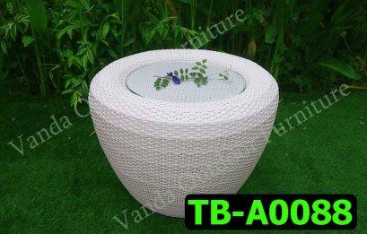 โต๊ะหวายเทียม รหัสสินค้า TB-A0088