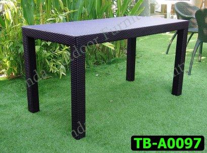 โต๊ะหวายเทียม รหัสสินค้า TB-A0097