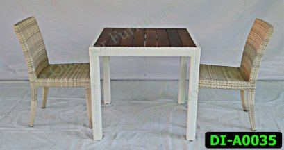 Rattan Dining and coffee set Product code DI-A0035
