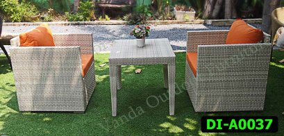 Rattan Dining and coffee set Product code DI-A0037