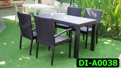 Rattan Dining and coffee set Product code DI-A0038
