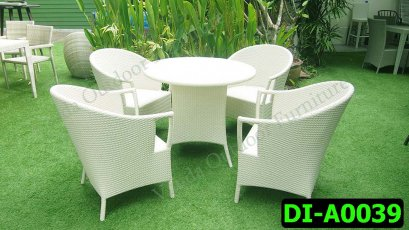 Rattan Dining and coffee set Product code DI-A0039