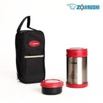 Zojirushi Food Jars ปิ่นโตอาหารสุญญากาศเก็บความร้อน รุ่น :  SW-EXE50-RR