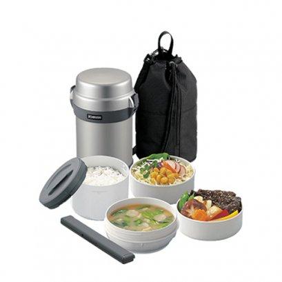 ปิ่นโตอาหารสุญญากาศเก็บความร้อน  รุ่น : SL-JAF14 SA