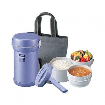 ปิ่นโตอาหารสุญญากาศเก็บความร้อน รุ่น : SL-NC09 AA