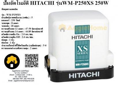 ปั๊มอัตโนมัติ HITACHI รุ่นWM-P250XS 250W