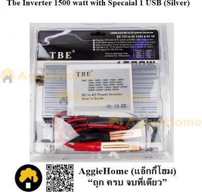 Tbe Inverter 1500 watt with Specaial 1 USB (Silver)
