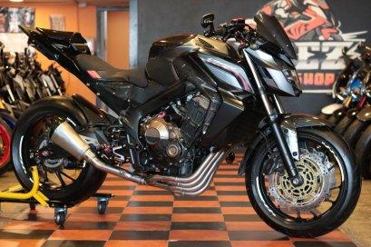 ขาย Honda CB650F ABS ปี 2017 โฉมLed แต่งทั้งคัน
