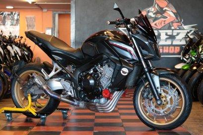 ขาย Honda CB650F ABS ปี 2015 สภาพป้ายแดง แต่งเต็ม