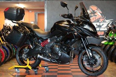 ขาย Kawasaki Versys650 ABS ปี 2015 สภาพป้ายแดง แต่งครบๆ