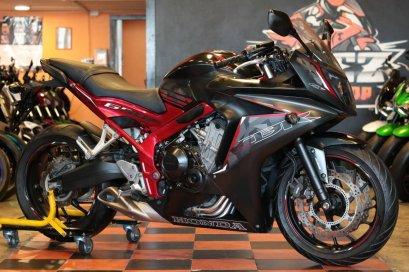 ขาย Honda CBR650F ABS ปี 2016 สภาพป้ายแดง สียอดฮิต คุ้มสุดๆ