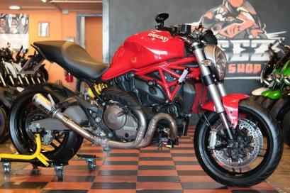 ขาย Ducati Monster 821 ABS ปี 2016 สภาพป้ายแดง แต่งเต็ม