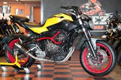 ขาย Yamaha MT07 ABS ปี 2015 แต่งเต็ม ท่อแต่ง คุ้มสุดๆ