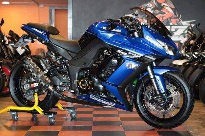 ขาย Kawasaki Ninja 1000 ABS ปี 2014 สภาพป้ายแดง แต่งเต็ม ราคาเล้าใจ