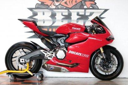 Ducati Panigale 899 ABS ปี 2015 แต่งเต็ม ท่อแต่ง คุ้มสุดๆ