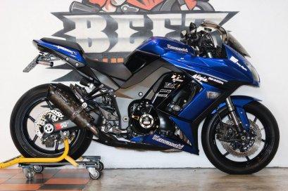 ขาย Kawasaki Ninja 1000 ABS ปี 2014 สภาพป้ายแดง แต่งเต็ม