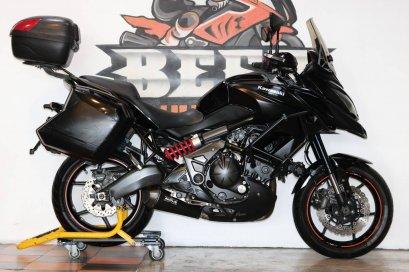 ขาย Kawasaki Versys650 ABS ปี 2015 สภาพป้ายแดง แต่งเต็ม