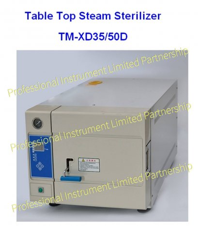 TABLE TOP STEAM STERILIZER TM-XD35/50D