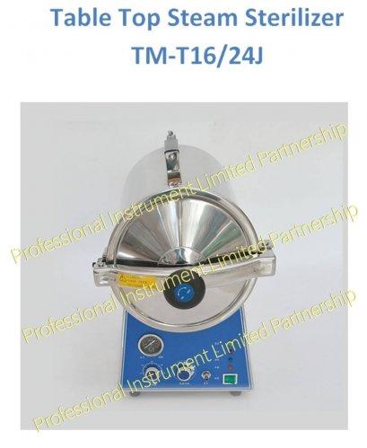 TABLE TOP STEAM STERILIZER TM-T16/24J