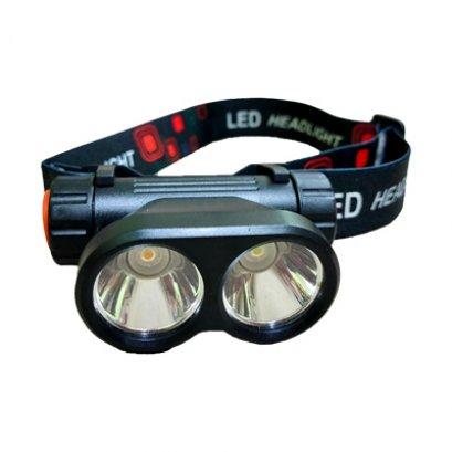ไฟฉายคาดศรีษะ ไฟฉาย LED ขนาดเล็ก ไฟ 2 หัว