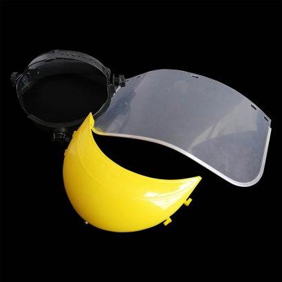 Face Shield อุปกรณ์ป้องกันหน้าและดวงตา มีสายรัดปรับระดับได้