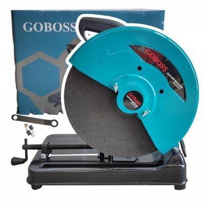 แท่นตัดไฟเบอร์ 14 นิ้ว GOBOSS Mod.MT-355 สีฟ้า