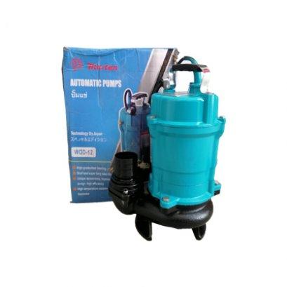 ปั๊มน้ำอัตโนมัติ ไดโว่ ไดโว่ดูดโคลน 2 นิ้ว  MARTEN WQD12-11-0.55