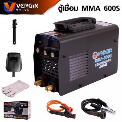 VERGIN ตู้เชื่อม (ตู้เชื่อมจิ๋ว) Inverter สามปุ่ม MMA-600S