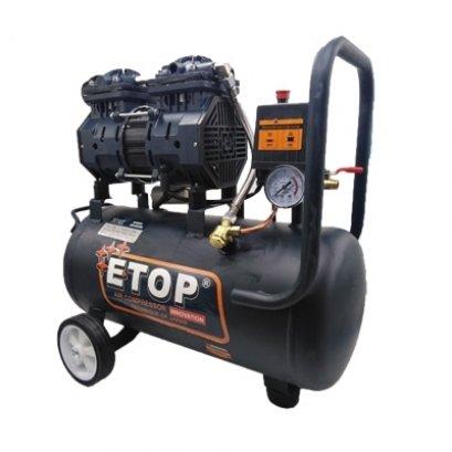 ปั๊มลม 30 ลิตร ETOP XH60030L สีดำ