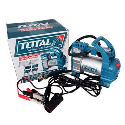 ปั๊มลมมินิ 12 โวลต์ ชนิดเสียบในรถยนต์ TOTAL TTAC1406