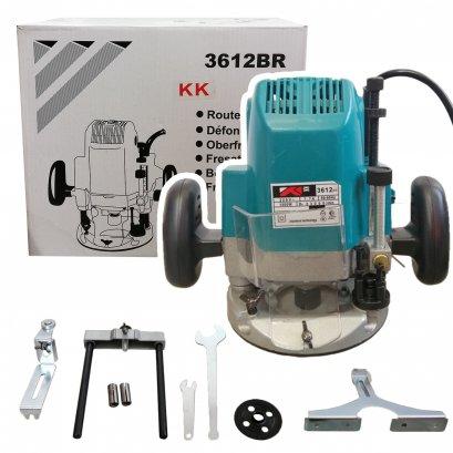 เร้าเตอร์ เครื่องเซาะร่องไม้ไฟฟ้า KK Mod.3612BR