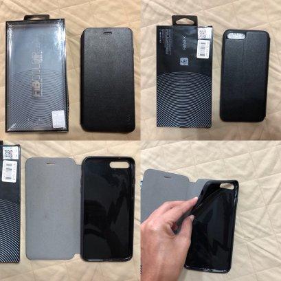 เคสฝาพับใช้ได้กับรุ่น ไอโฟน 7 พลัส และ 8 พลัส แบรนด์ x-leve มือสอง สภาพดี