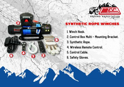 Synthetic Rope Winches