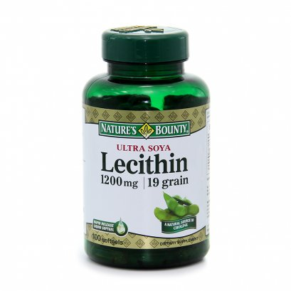 Nature's Bounty  LECITHIN 1200 mg.