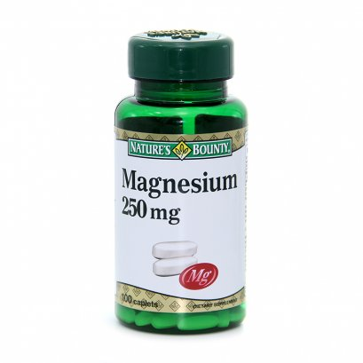 Nature's Bounty  Magnesium  250 mg.