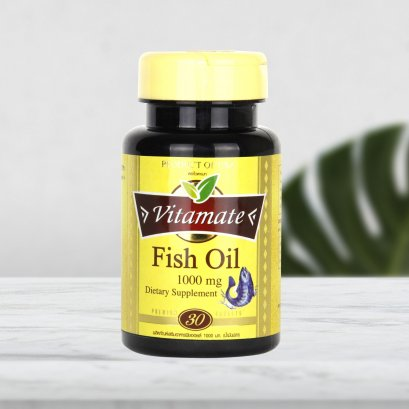 Vitamate Fish Oil  1000 mg.