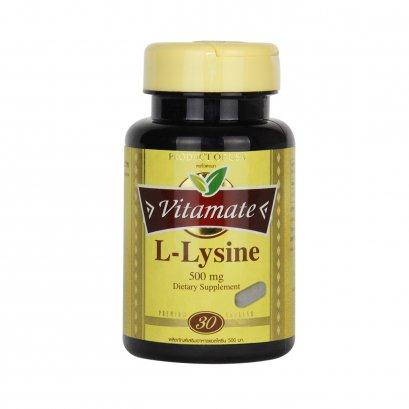 Vitamate L-Lysine 500 mg.