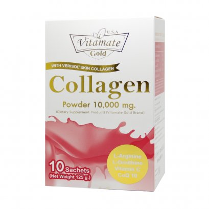 Vitamate Gold Collagen powder 10,000 mg.