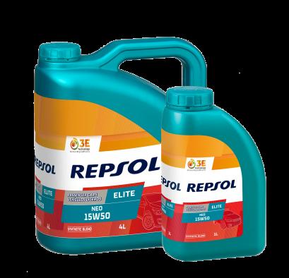 REPSOL ELITE NEO 15W50 & 20W50