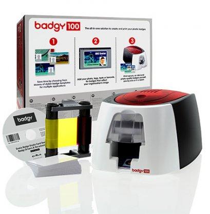 เครื่องพิมพ์บัตรพนักงาน Evolis รุ่น Badgy 100