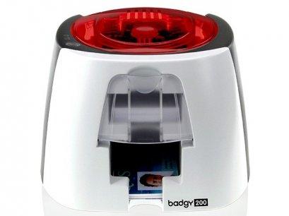 เครื่องพิมพ์บัตรพนักงาน Evolis รุ่น Badgy 200