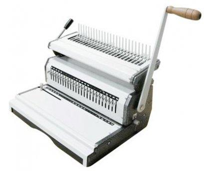 เครื่องเจาะกระดาษมือโยกและเข้าเล่มมือโยก รุ่น Mac comb240