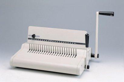 เครื่องเจาะกระดาษมือโยกและเข้าเล่มมือโยก รุ่น TCC-21