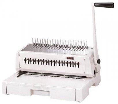 เครื่องเจาะกระดาษมือโยกและเข้าเล่มมือโยก รุ่น TCC-211 (HPB-210)