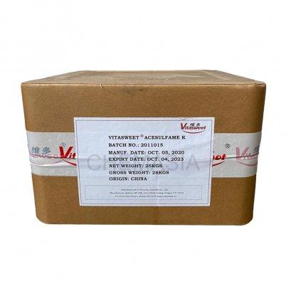 เอซีซัลเฟมเค(acesulfame K) สารให้ความหวานแทนน้ำตาล
