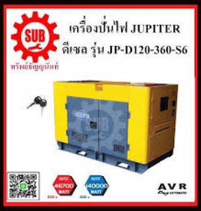 เครื่องปั่นไฟฟ้าดีเซล JUPITER JP D120 360 S6 (220V46.7KW/380V140KW)