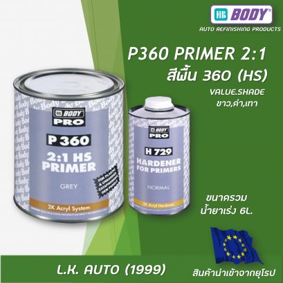 P360 2:1 HS FILLING PRIMER