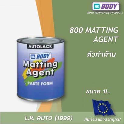 800 MATTING AGENT