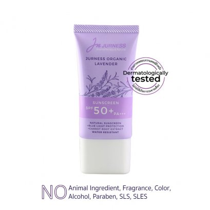 JURNESS Organic Lavender Sunscreen SPF 50 + pa +++